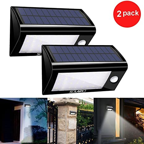 Wireless Outdoor Flood Lights Solar powered security floodlights set of 2 motion activated solar powered security floodlights set of 2 motion activated lights wireless outdoor light workwithnaturefo