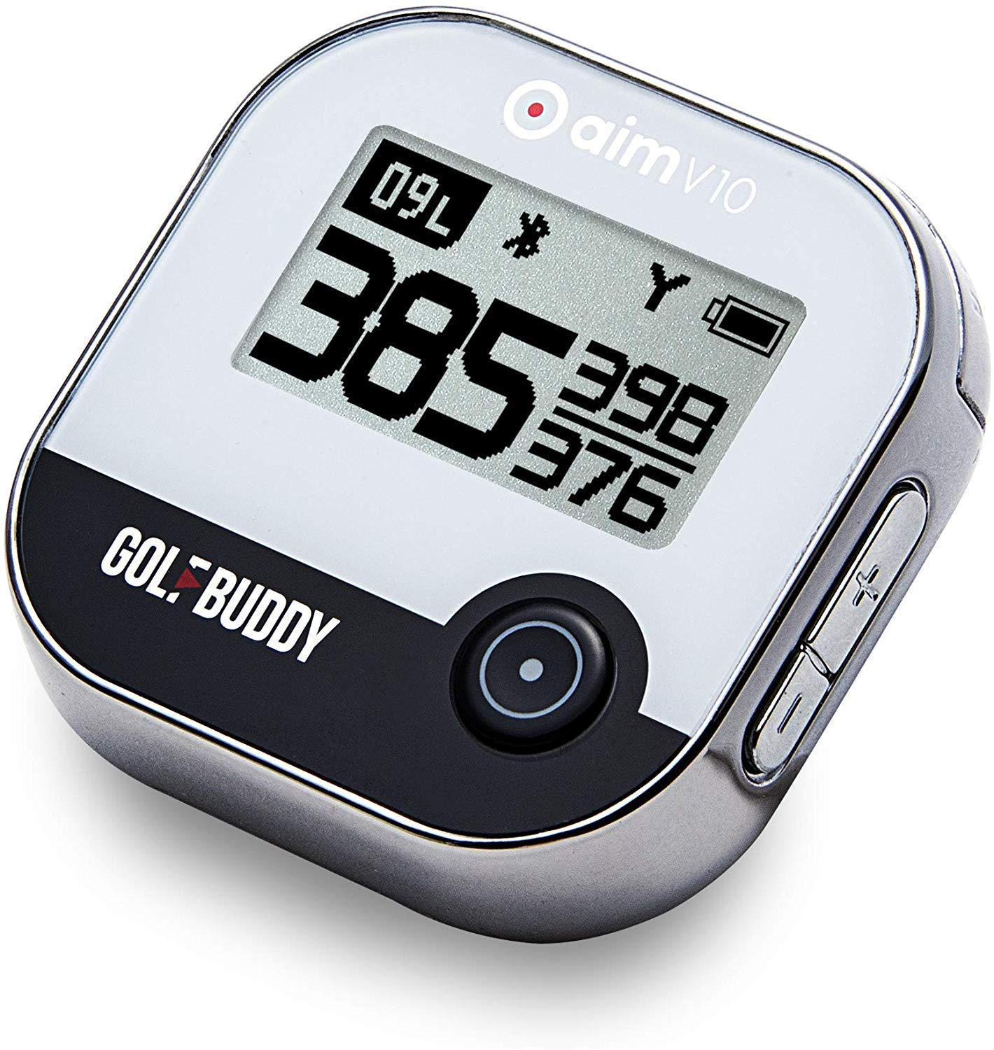 GOLFBUDDY aim V10 Talking Golf GPS, Chrome