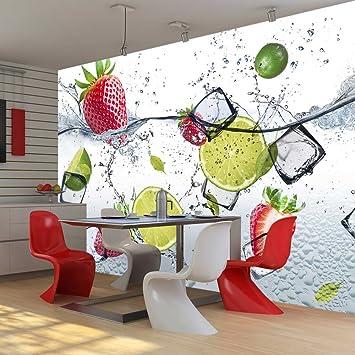 murando - Fototapete Küche 250x175 cm - Vlies Tapete - Moderne ...