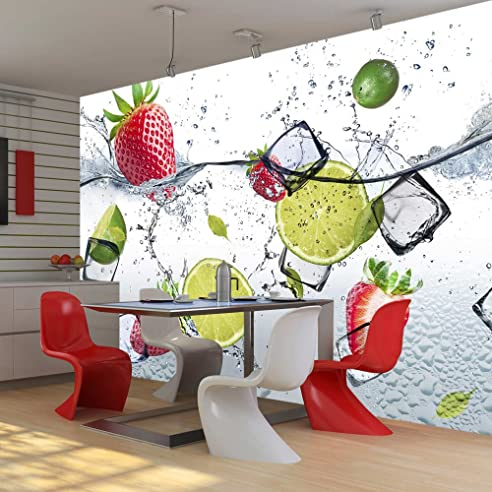 Murando - Fototapete Küche 250X175 Cm - Vlies Tapete - Moderne