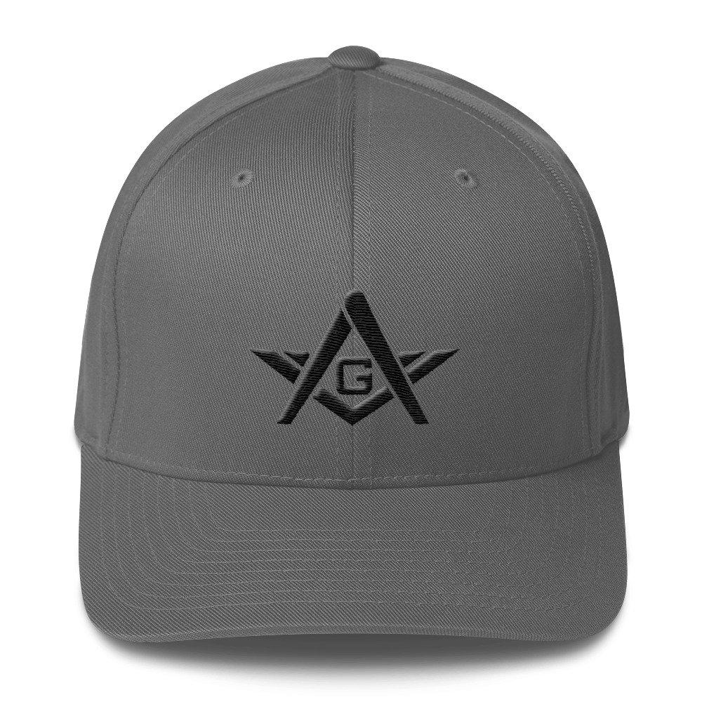 9e90379a0 Amazon.com: Flexfit Masonic Hat Mason Cap 3D Puff Embroidery/G ...