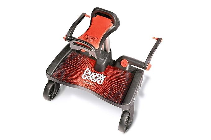 Lascal Buggy Board Maxi + Red/Red - Plataforma para carrito