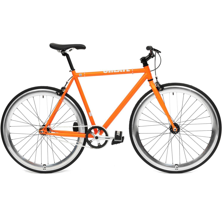 CREATE Original Cr-Mo Stahl Fixie Singlespeed Fahrrad viele ...
