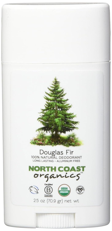 North Coast Organics 1007 Douglas fir organic deodorant, 2.5 Ounce