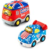 VTech Go! Go! Smart Wheels - National Flag Vehicles 2-pack - Online Special Edition