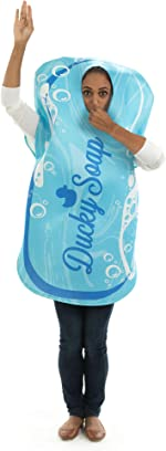 Silky Soap Costume - Funny, Classic, Adult One-Size Unisex Halloween Costumes