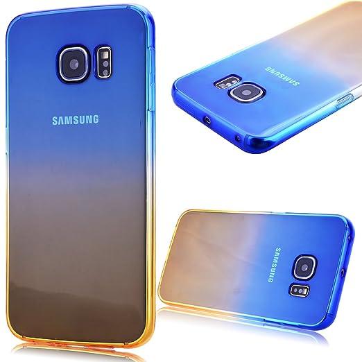 10 opinioni per GrandEver Custodia TPU Gel Silicone per Samsung Galaxy S6 Edge Cover Morbida Fit