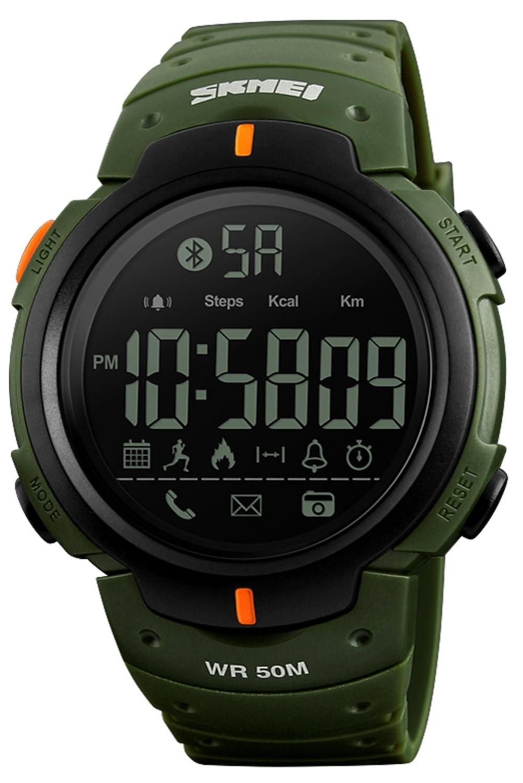 メンズデジタルスポーツウォッチファッションシンプル歩数計カロリーストップウォッチ防水Bluetoothスマートウォッチ B07DJ4RKW2