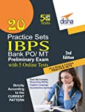 20 Practice Sets for IBPS PO Preliminary Exam with 5 Online Tests
