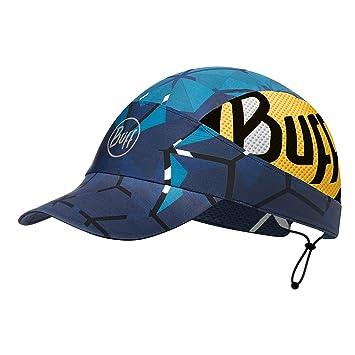 Buff Pack Run Cap + UP Ultrapower Paño Tubular | Gorro para la correre con Visera | Olor Resistente | Protección UV Helix Ocean - 115179.737.10.00: ...