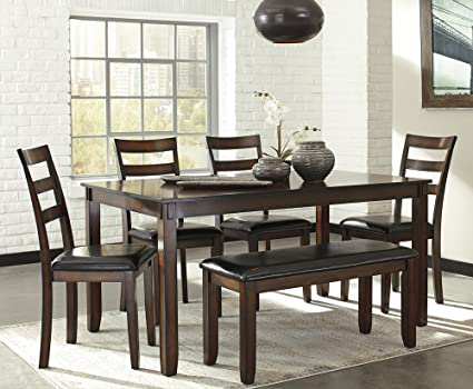 dining room furniture sets Amazon.  Ashley Furniture Signature Design   Coviar Dining  dining room furniture sets