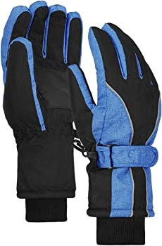 Terra Hiker Waterproof Microfiber Winter Ski Gloves
