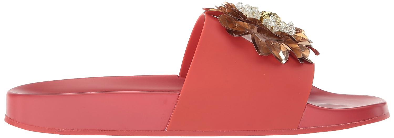 Katy Perry Women's The Darce Slide Sandal B073WNHH66 8.5 B(M) US Spanish Red