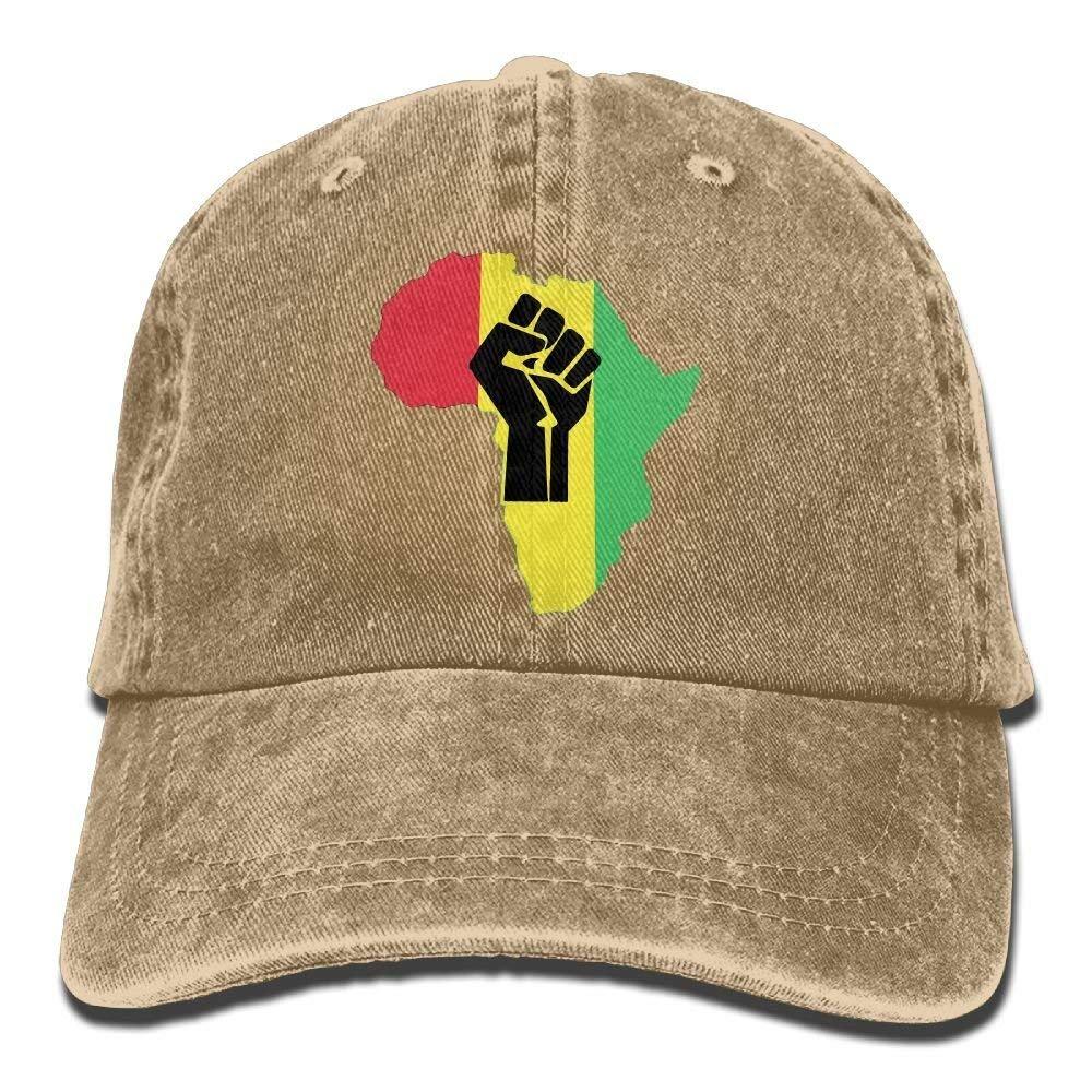 RAÍCES africanas Impresas en Negro Piezas Power. Gorra de papá PNG ...