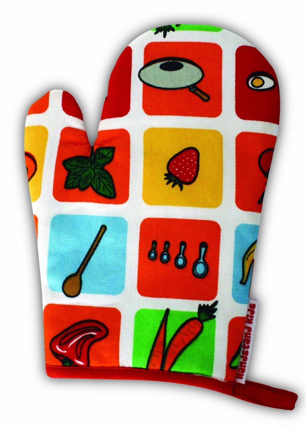 Handstand Kids Eat Your Fruits and Veggies Oven Mitt 107