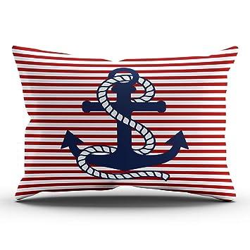 Amazon.com: ONGING - Funda de almohada decorativa, diseño de ...