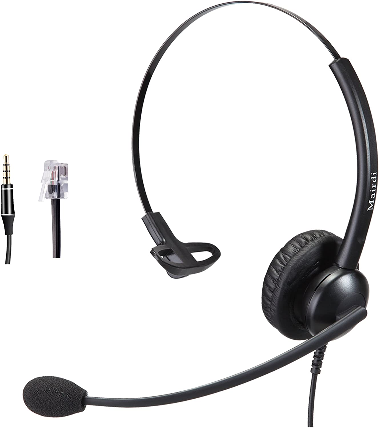 New Phone Jack PC Mic//Headset To CISCO Office Adapter 3.5mm Female RJ9