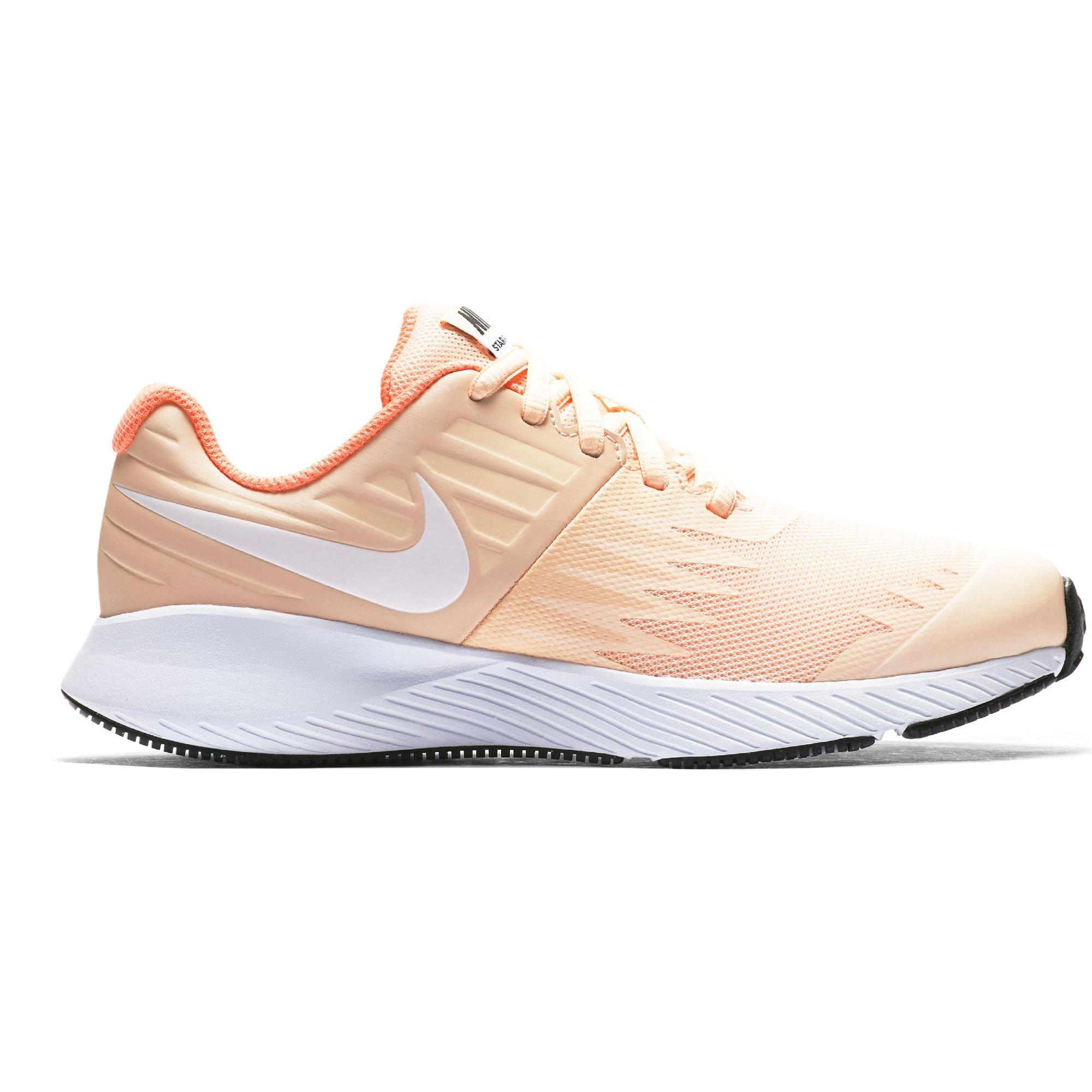Nike Girl's Star Runner (GS) Running Shoe Crimson Tint/White/Crimson Pulse/Black Size 3.5 M US by Nike (Image #1)