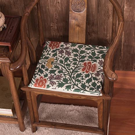 Amazoncom Klwj Wooden Chair Cushionchinese Style Cushions