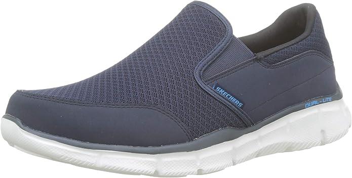 Skechers Ultra Flex Salutations Sneaker Herren Marineblau(Navy)/Weiß