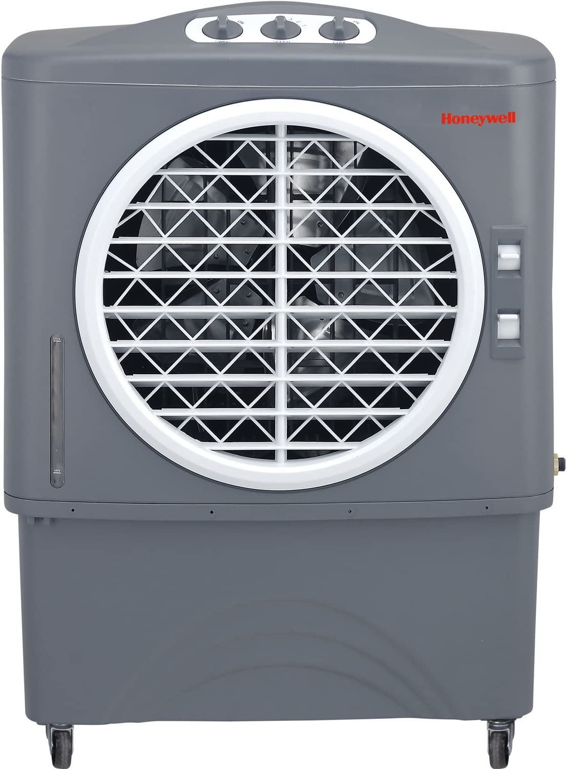 Honeywell CO48PM 1062 CFM Indoor Outdoor Evaporative Air Cooler, Grey