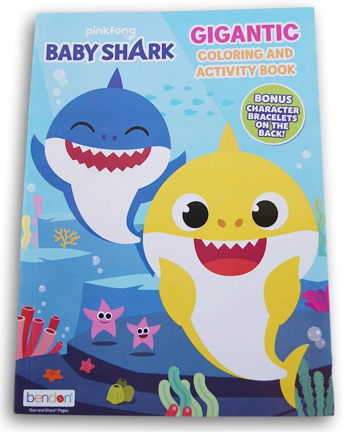 Pinkfong Baby Shark Gigantic Coloring and Activity Book - 192 Pages