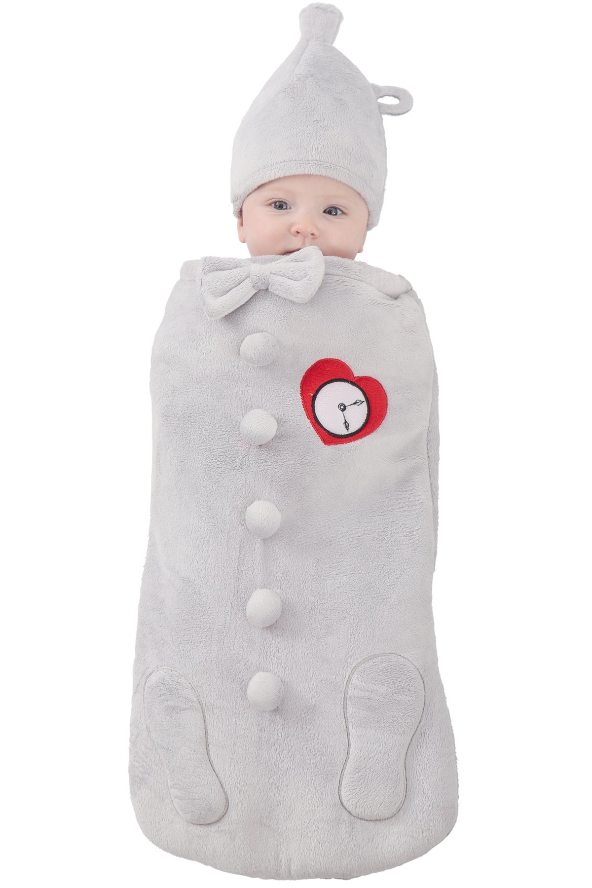 Princess Paradise Baby's The Wizard of Oz Tin Man Newborn Swaddle Deluxe Costume, As Shown, 0/3M