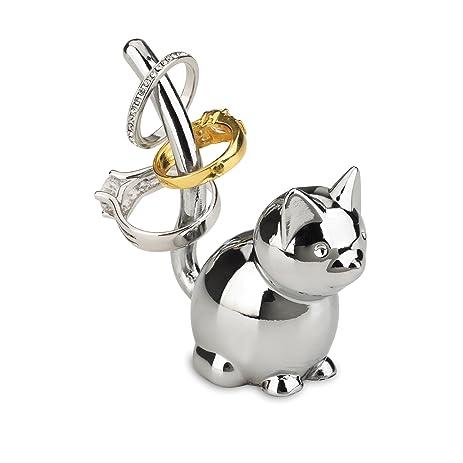 Amazon Umbra Zoola Cat Ring Holder Chrome Home & Kitchen