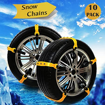 Snow Chains Anti Skid Emergency Snow Tyre Chains Car Belting Straps