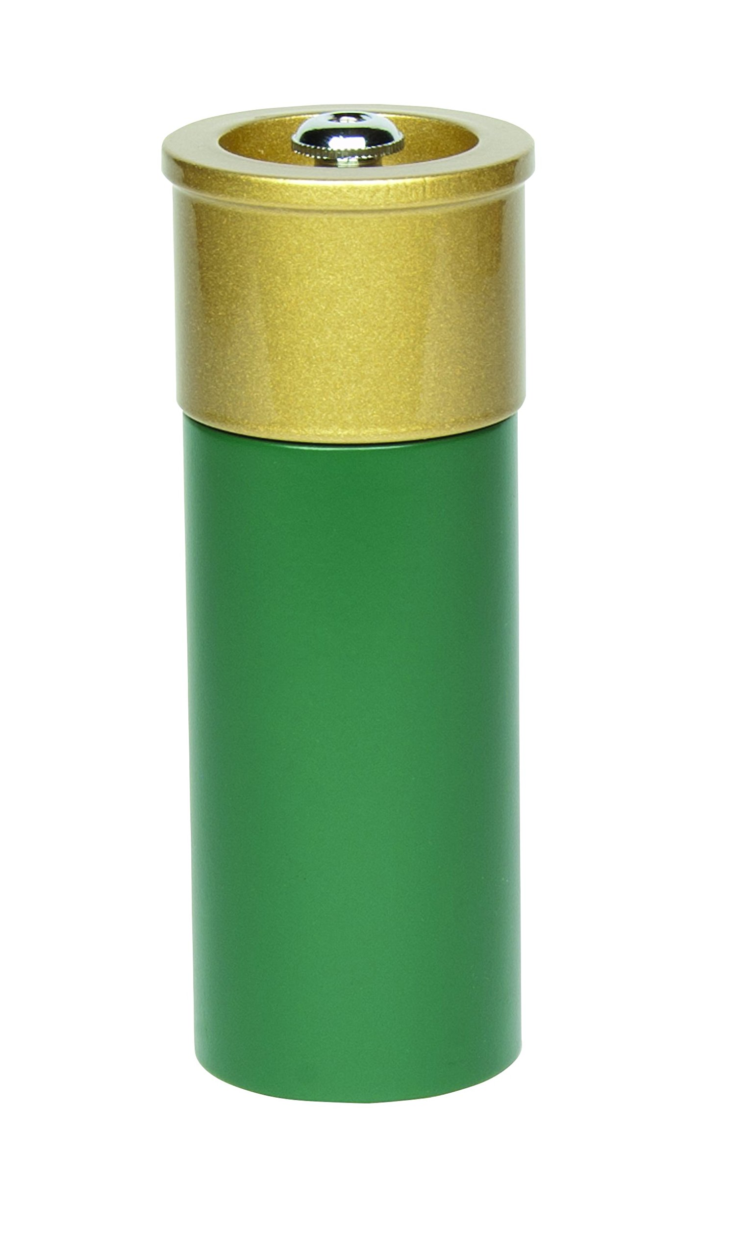 Fletchers' Mill Shotgun Shell Salt Mill, Green - 5 Inch
