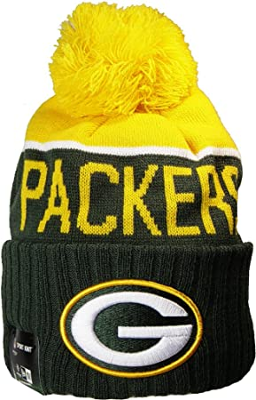 d4e38c40055b40 Green Bay Packers Beanie Knit Hat Officially Licensed Apparel New Era and  NFL