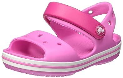 9d1179309d1d2 Amazon.com | Crocs Crocband Sandal Kids Candy Pink Croslite Infant ...