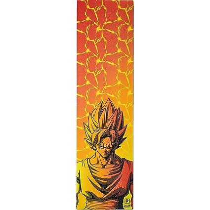 Amazon.com: Primitive Skateboarding DBZ Goku Griptape - 9