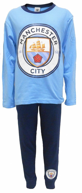 Manchester City Fc Jungen Schlafanzug Mehrfarbig Blau//Mehrfarbig