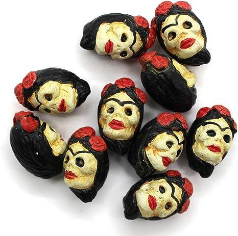 10 – Pequeño – Frida Kahlo – día de los muertos – calavera de ...