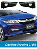 Volga Honda City Latest Led Drl (Day Time Running Lights) Fog Lamp Cover