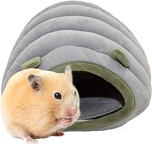 HLMOptimo Chinchilla Hedgehog Guinea Pig Bed Accessories Cage Toys Bearded Dragon House Hamster Supplies Habitat Ferret Rat