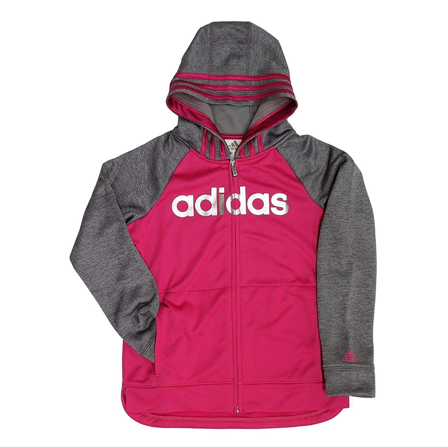 Adidas Active Full Zip Hoodie Girls S(7/8))