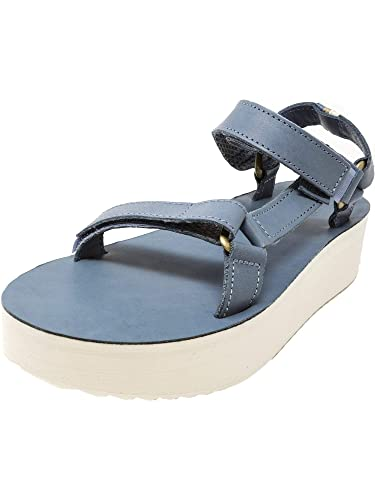 5683b7656321 Teva Women s Flatform Universal Crafted Citadel Ankle-High Leather Sandal -  7M