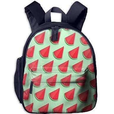 Amazon Com As Wall School Backpack Cut Watermelon Pattern