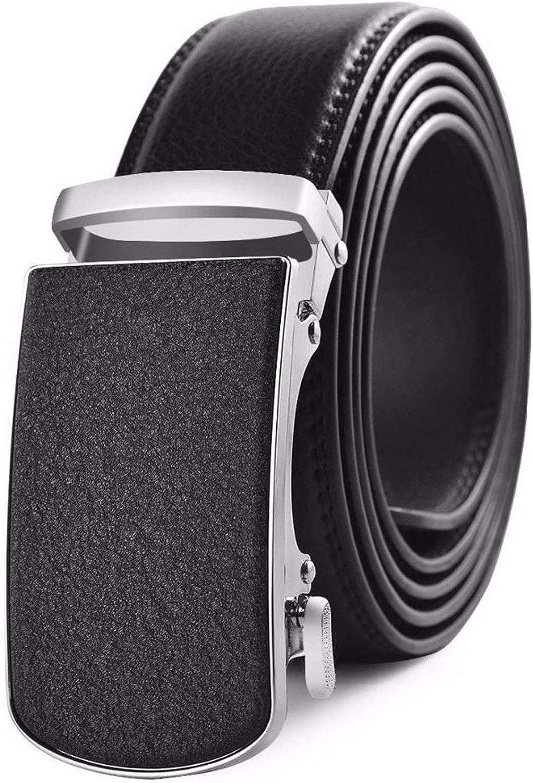 Belt Men Luxury High Male Genuine Leather Strap Automatic Buckle Belt