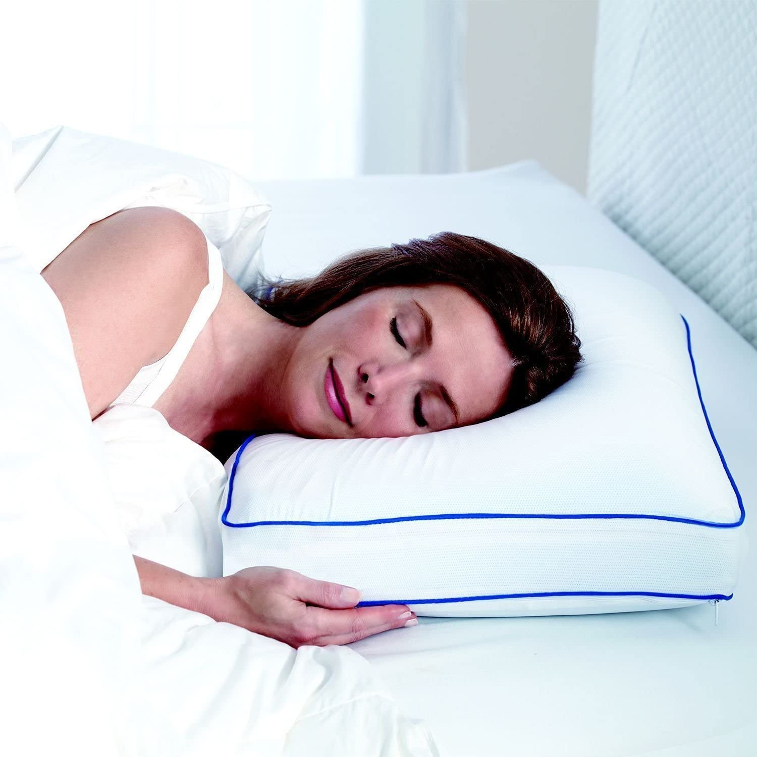 Serta Gel Memory Foam Side Sleeper Pillow FREE SHIPPING