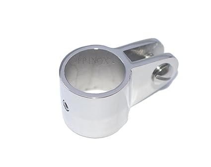 Abrazadera de acero inoxidable, 25 mm; acero inoxidable 316 ...