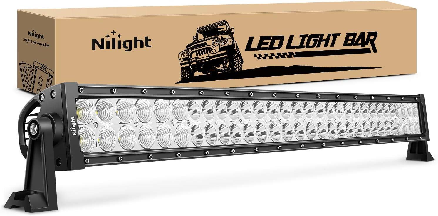 "32INCH 180W Curved LED Work LIGHT BAR Spot Flood Offroad Truck SUV ATV PK 30//34/"""