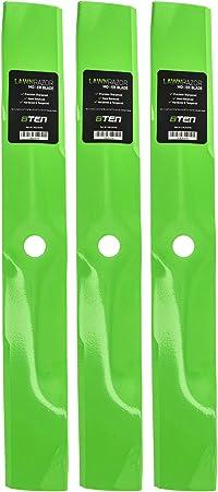 LawnRAZOR Blade John Deere 325 345 335 355D 425 445 54 Inch Deck 3 Pack