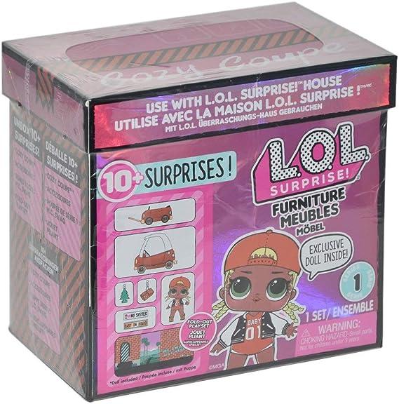 LOL Surprise - Furniture Packs y 1 muñeca - Modelos Surtidos (Giochi Preziosi LLU90000): Amazon.es: Juguetes y juegos