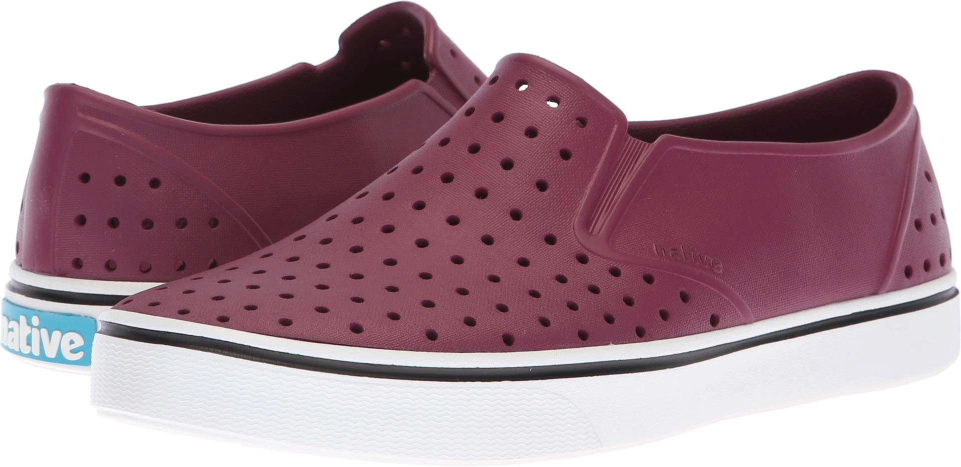 native Shoes Unisex Miles Root Red/Shell White 11 Women / 9 Men M US
