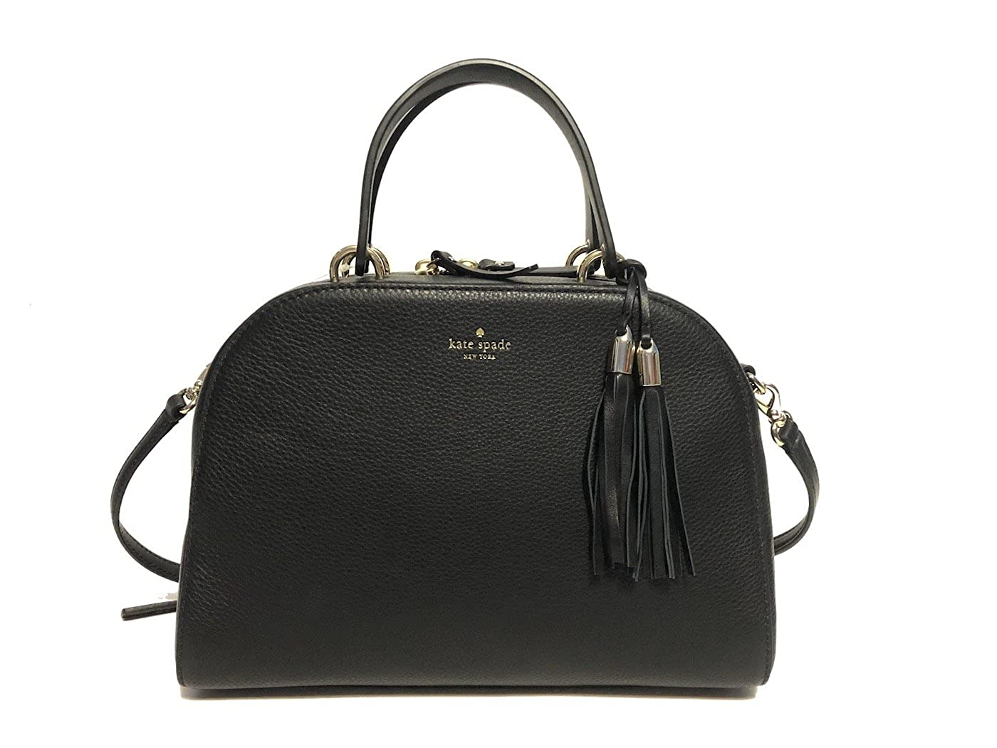 Kate Spade Bayley Atwood Place WKRU5321 Pebbled Leather Satchel Crossbody