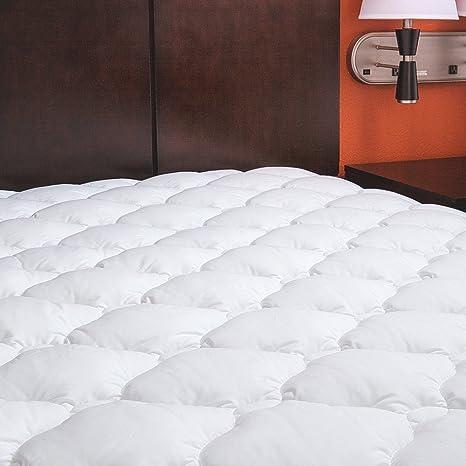 Amazon.com: Barrera antihumedad extra colchón Topper de ...