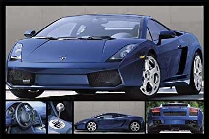 Amazon Com Studio B Lamborghini Gallardo Poster Prints Posters